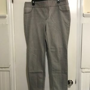 Chico's Gray Pull-up Stretch Jeans Sz 3